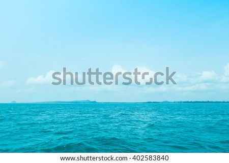 Sky and Sea Background