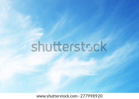 Sky as background - stock photo