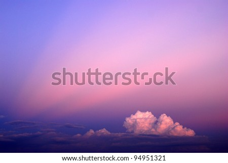 Sky background landscape beams beam cloud light