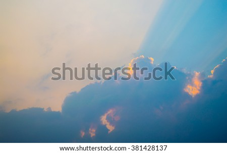 Sky background texture