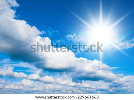 Sky Beauty Heaven Wallpaper  - stock photo