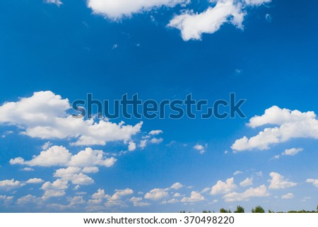 Sky Beauty Summer Heavens  - stock photo