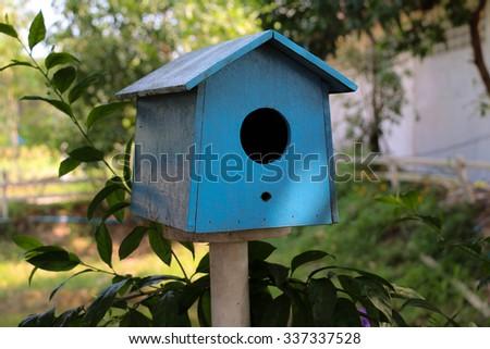 sky  Bird house  - stock photo