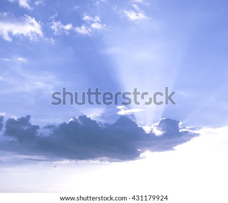 sky blur Background. Sunlight Defocused Tomorrow Vintage Style Soft Zen Glow Clear Retro Aqua Relax Shine Light Clean Pastel Fresh Bless Smooth Orange Horizon Air Park Glamour hope vivid dreams - stock photo