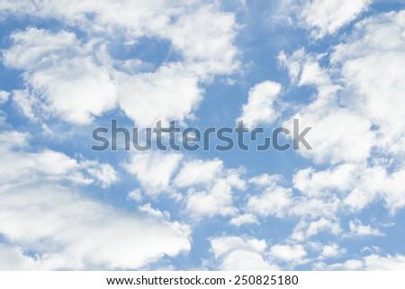 Sky & cloud - stock photo