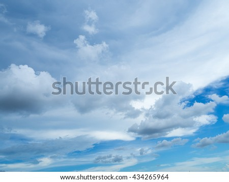 sky cloud in day sky cold it is sky movement  to be sky have Cloud. this cloud motion. we have keep this item use for background in any   form. I hope to you happy with sky my eye,sky blue ,sky cloud - stock photo