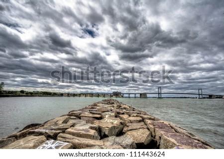 sky/clouds - stock photo