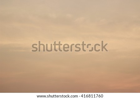Sky gold - stock photo