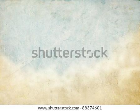sky, grunge background - stock photo