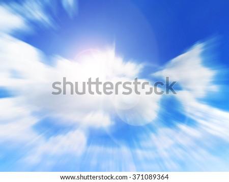 Sky image - stock photo
