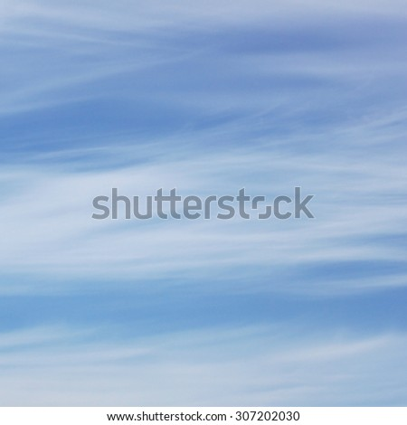 Sky in clouds - stock photo