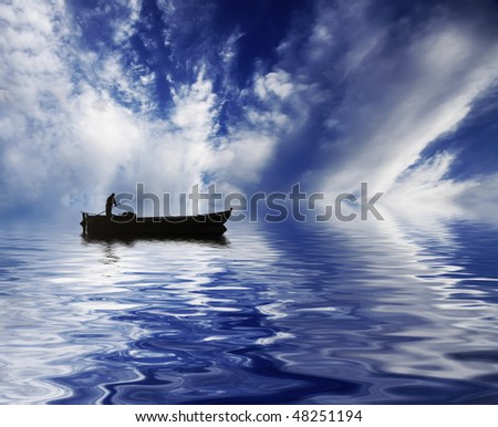sky in the water