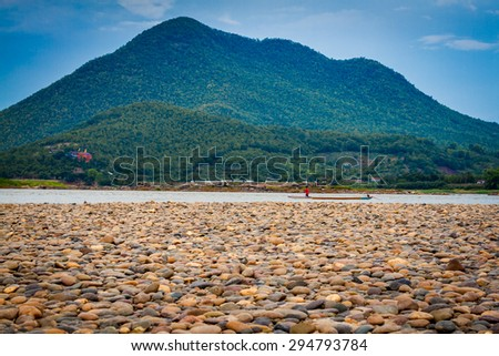Sky River Mountain - stock photo
