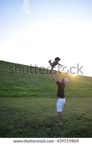 sky walker - stock photo