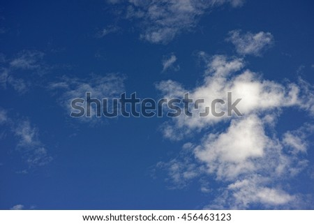 sky with clouds