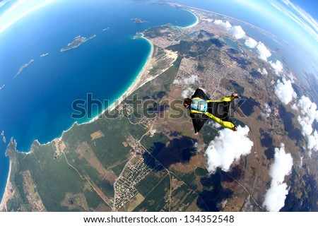 Skydive Wing Suit