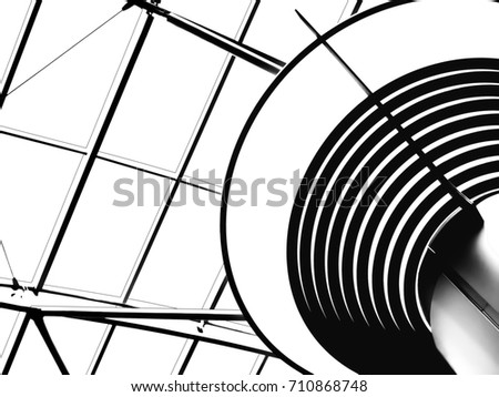 Skylight stock images royalty free images vectors for Architectural skylight