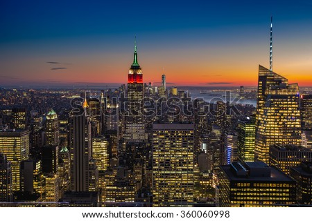 Skyline New York City