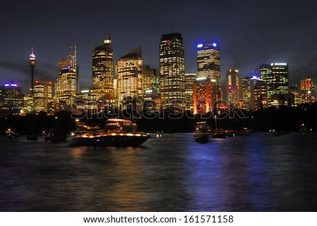 Skyline Sydney - stock photo