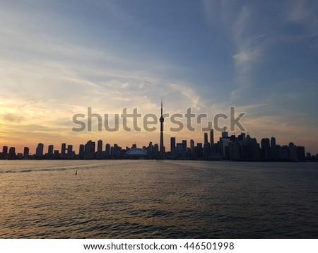 Skyline Toronto - stock photo