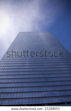 Skyscraper in New York City - stock photo