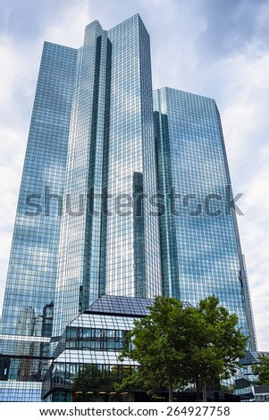 Skyscrapers in Frankfurt am Main, Germany