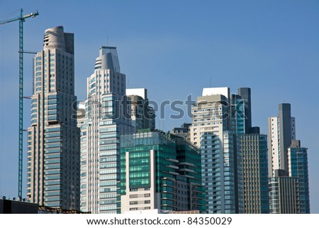 Skyscrapers in Puerto Madero