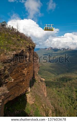 Skyway in Blue Mountains, Sydney, NSW,  Australia - stock photo