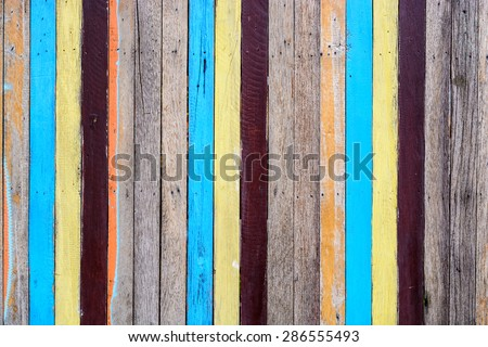 Slat colourful are yellow blue and brown