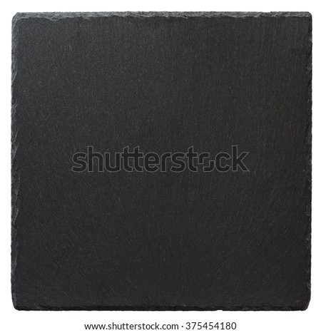 Slate  isolated on a white background