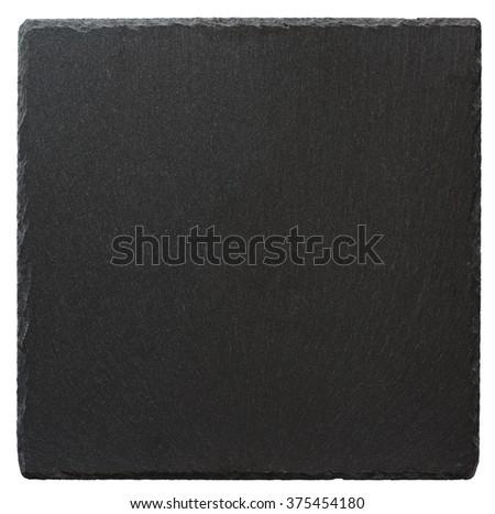 Slate  isolated on a white background - stock photo