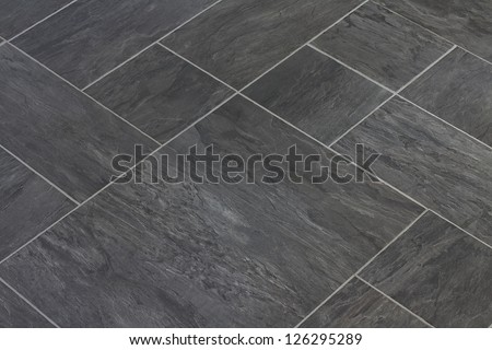 Slate Texture Vinyl Flooring Popular Choice Stock Photo