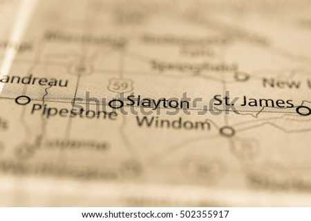 Slayton, Minnesota, USA.