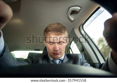 Sleep at the wheel while driving