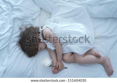 Sleeping Beauty - stock photo