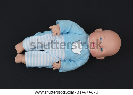 Sleeping Doll  - stock photo