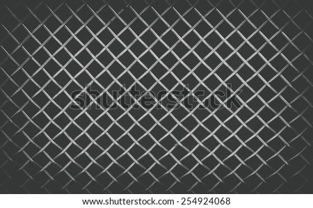 sleet metal mesh background or texture - stock photo