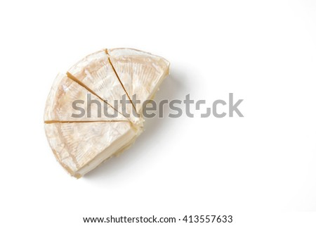 slice camembert cheese