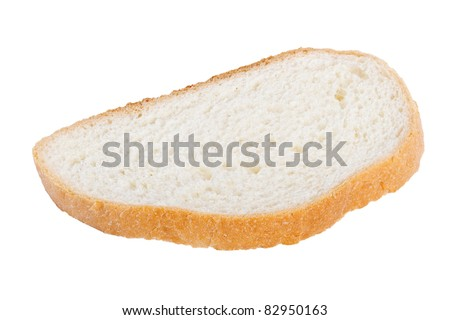 Slice of bread.