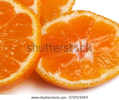 Sliced orange - stock photo