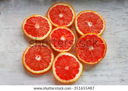 Sliced Sicilian Oranges