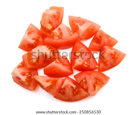how to serve sliced tomatoes