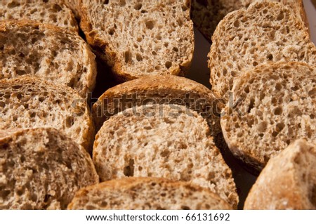 slices of wholemeal bread macro