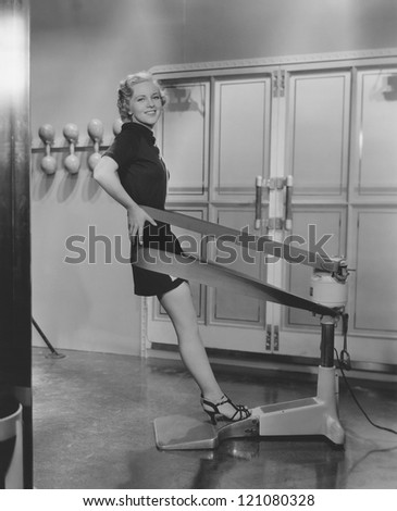 Slimming down - stock photo