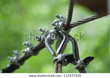 Slings close up - stock photo