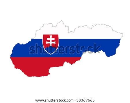 Slovak Republic - stock photo