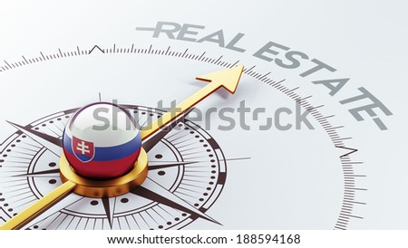 Slovakia High Resolution Real Estate Concept