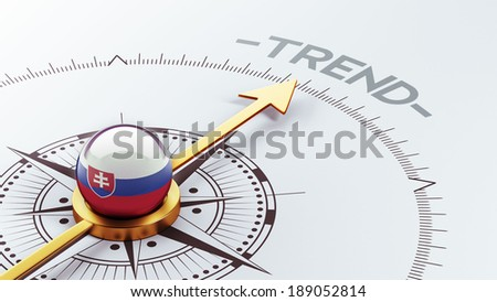 Slovakia High Resolution Trend Concept