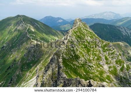 Slovakian West Tatra Mountains, Rohace  - stock photo