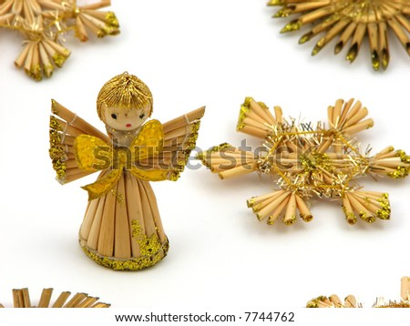 Small Angel with stars